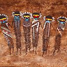 6 Kachinas by ☼Laughing Bones☾