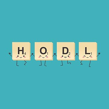 The HODL Game by AnishaCreations