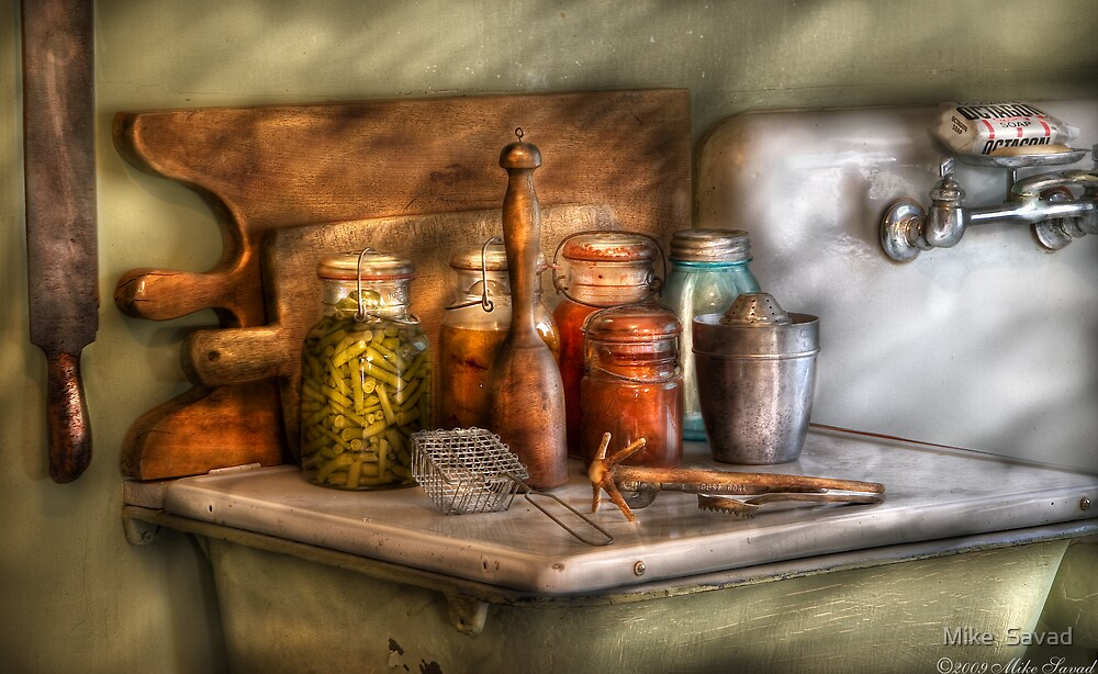 The process of Canning by Michael Savad