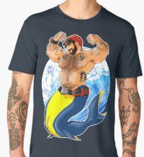 ADAM LIKES SCUBA DIVING Men's Premium T-Shirt