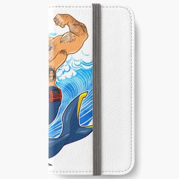 ADAM LIKES SCUBA DIVING iPhone Wallet