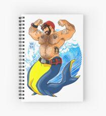 ADAM LIKES SCUBA DIVING Spiral Notebook