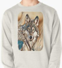 The Grey Timber Wolf Pullover