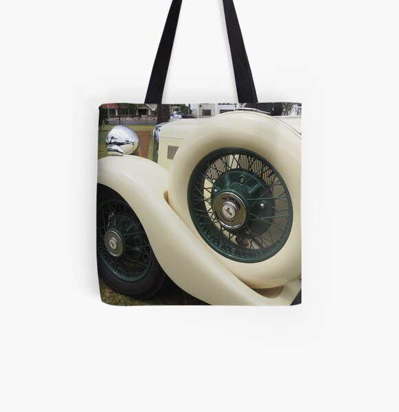 Art deco era Armstrong Siddeley car detail All Over Print Tote Bag