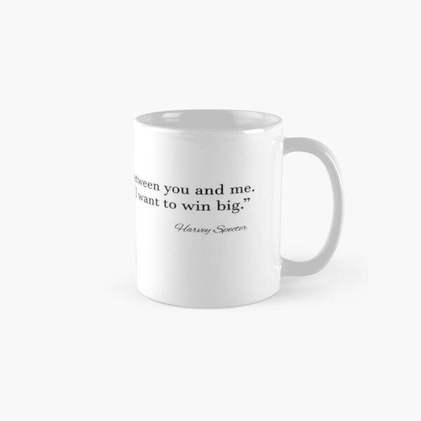 Harvey Spectre - ¡por eso lo amamos tanto! Taza clásica