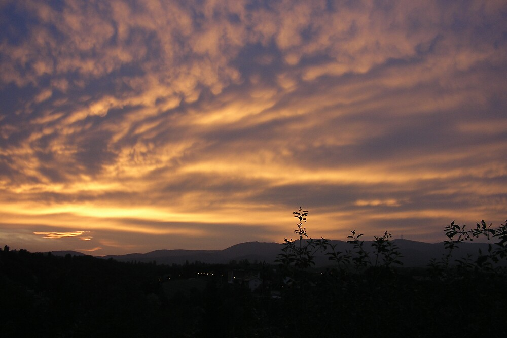 Zagreb sunset 01 by Aneta Bozic