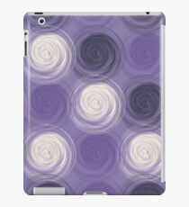 Polka dot seamless pattern with abstract circles iPad Case/Skin
