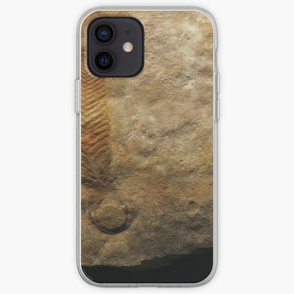 Fossil feather iPhone Soft Case