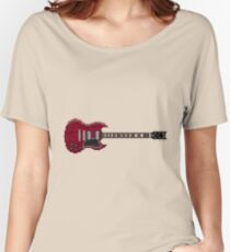 Angus Guitar Women's Relaxed Fit T-Shirt
