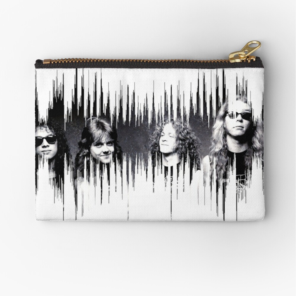 Metallica Zipper Pouch