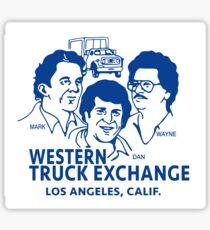 Western Truck Exchange Sticker