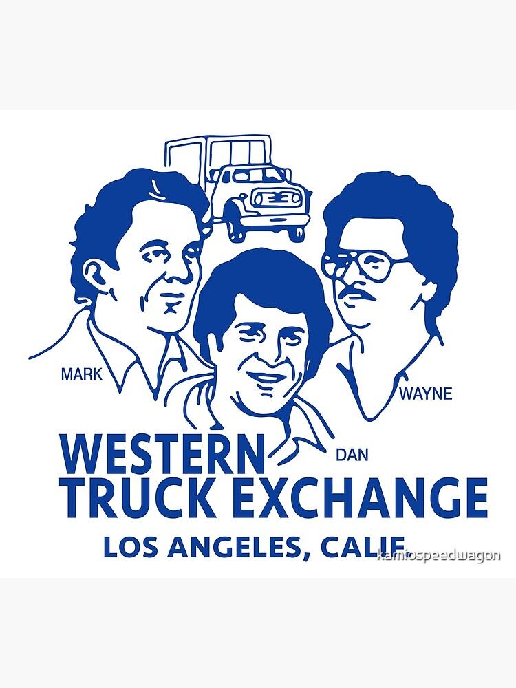 Western Truck Exchange by kamiospeedwagon