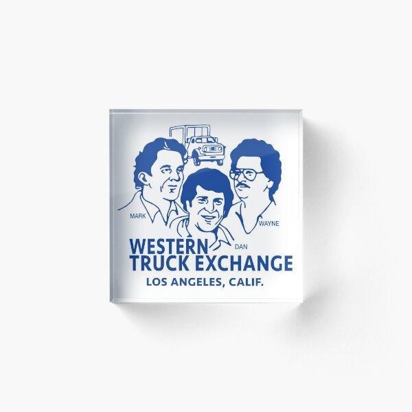 Western Truck Exchange Acrylic Block
