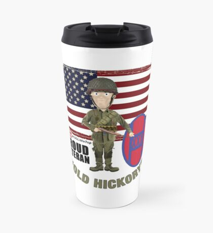 NC National Guard- Old Hickory Travel Mug