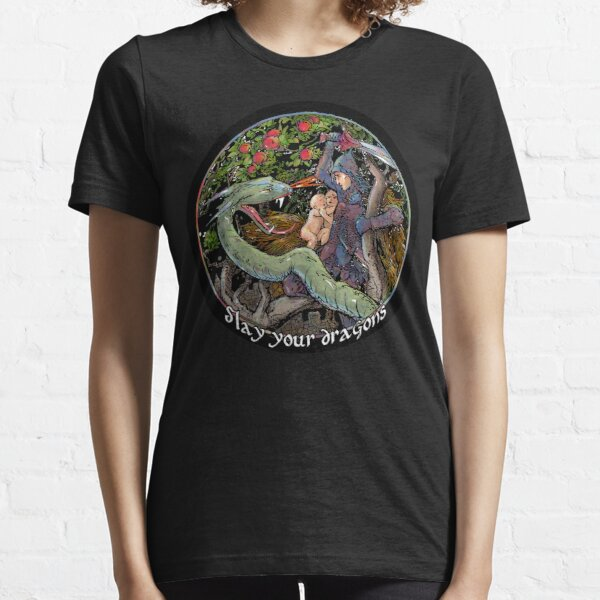 Slay Your Dragons. Gift for Jordan B. Peterson fans Essential T-Shirt