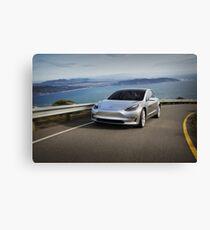 Tesla Model 3 (3) Canvas Print