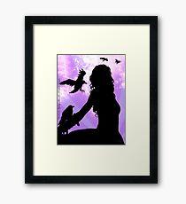 Raven Lady Framed Print