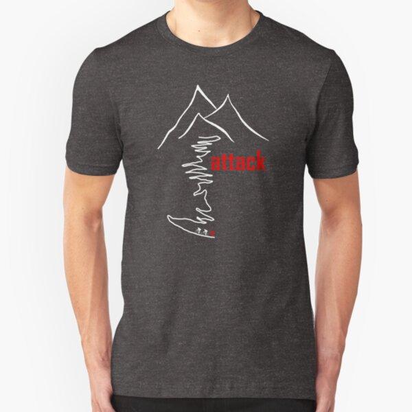 Cycling Climb, Attack Slim Fit T-Shirt
