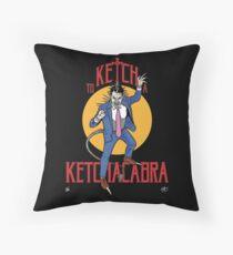 Ketchacabra! Throw Pillow
