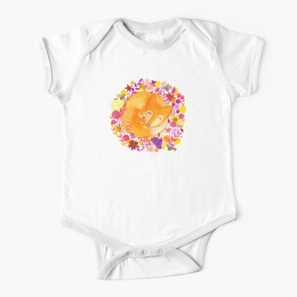 Harriet the Fox Short Sleeve Baby One-Piece