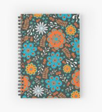 Blooming Quirky Spiral Notebook
