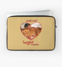Long Live Snuggle Power Laptop Sleeve