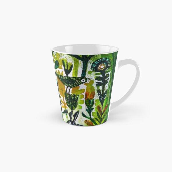 The hare and the tortoise Tall Mug
