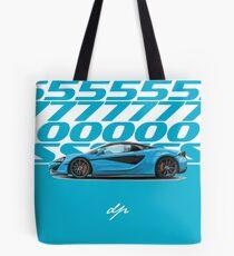 McLaren 570s Graphic Design Tote Bag