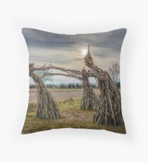 The Witches of Rollright Throw Pillow