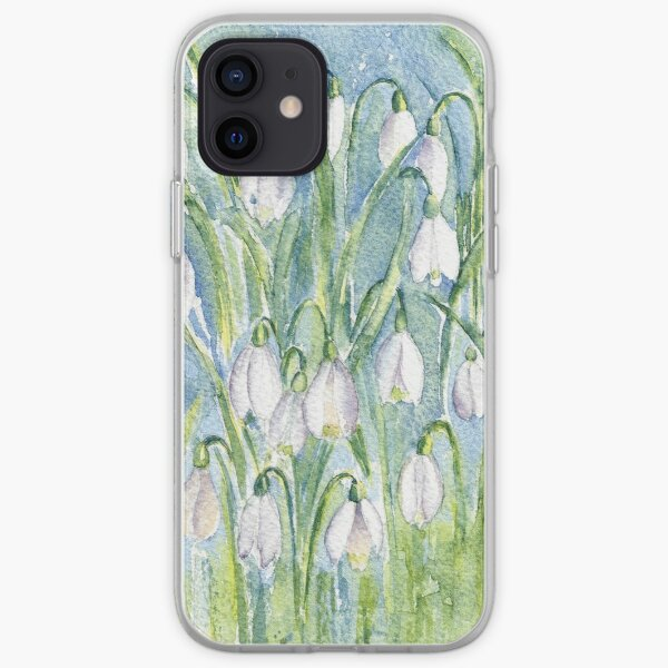 Snowdrops iPhone Soft Case