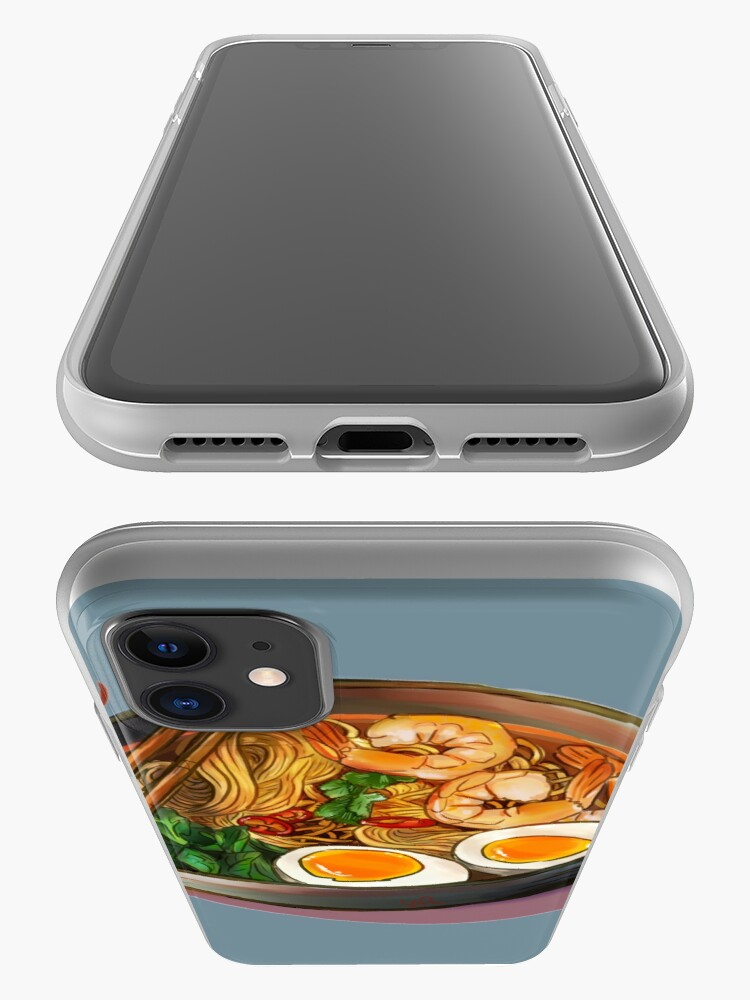 Alternate view of Japanses Ramen Noodles Bowl iPhone Case & Cover