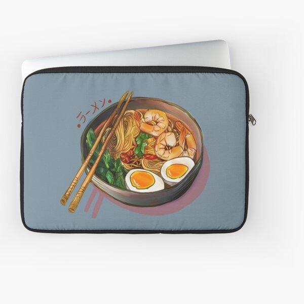 Japanses Ramen Noodles Bowl Laptop Sleeve