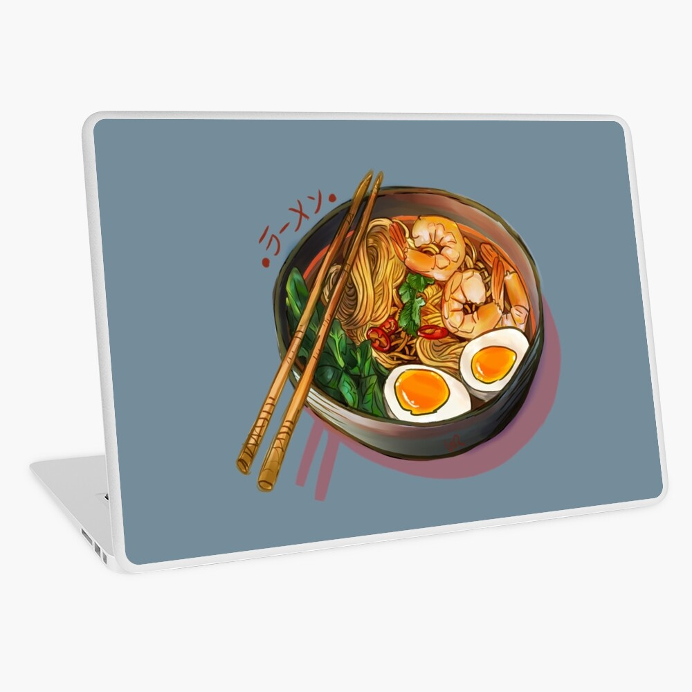 Japanses Ramen Noodles Bowl Laptop Skin