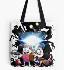 gravity falls adventure Tote Bag