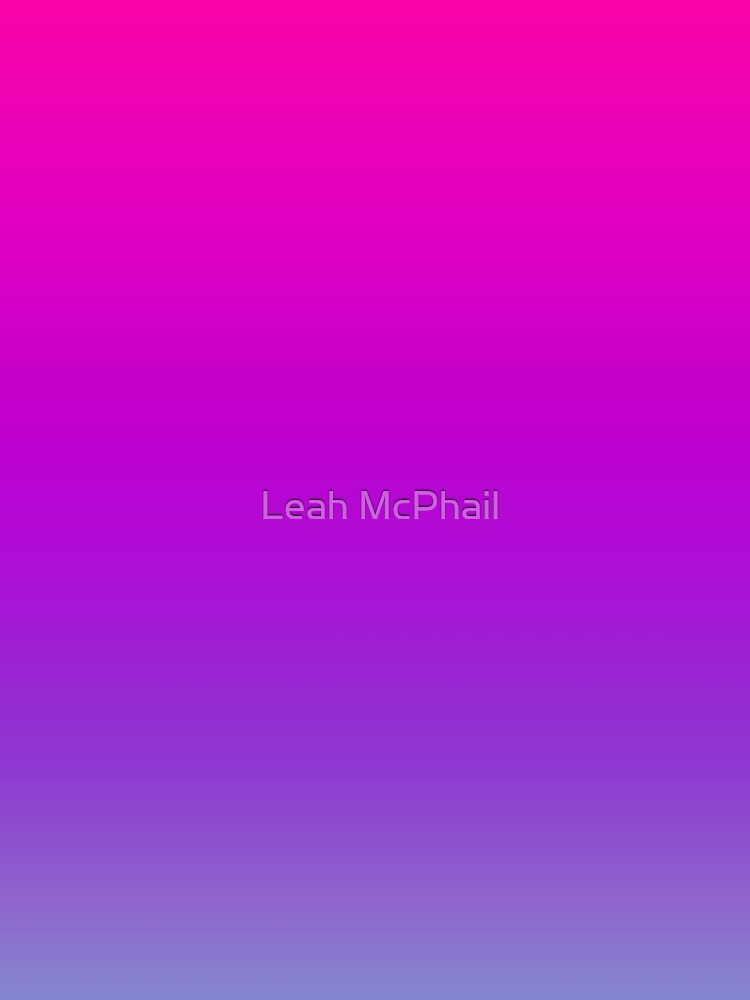 Pink and Purple Ombre by LeahMcPhail