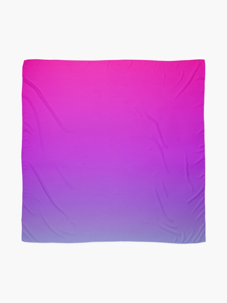 Alternate view of Pink and Purple Ombre Scarf