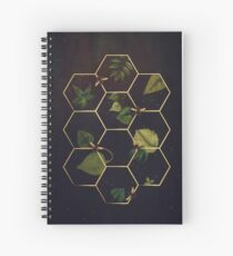 Bees in Space Spiral Notebook