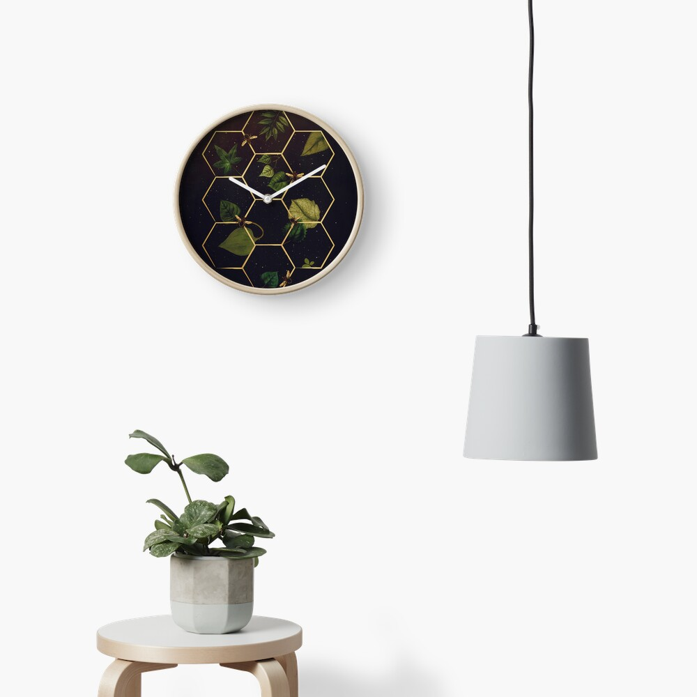 Bees in Space Clock