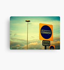 The Signs Canvas Print