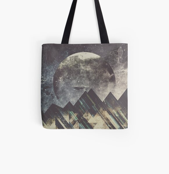 Sweet dreams mountain All Over Print Tote Bag