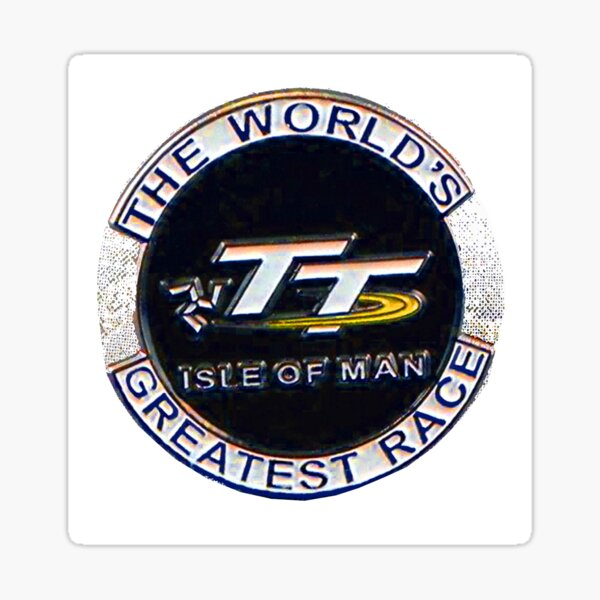 The Worlds Greatest Race Sticker