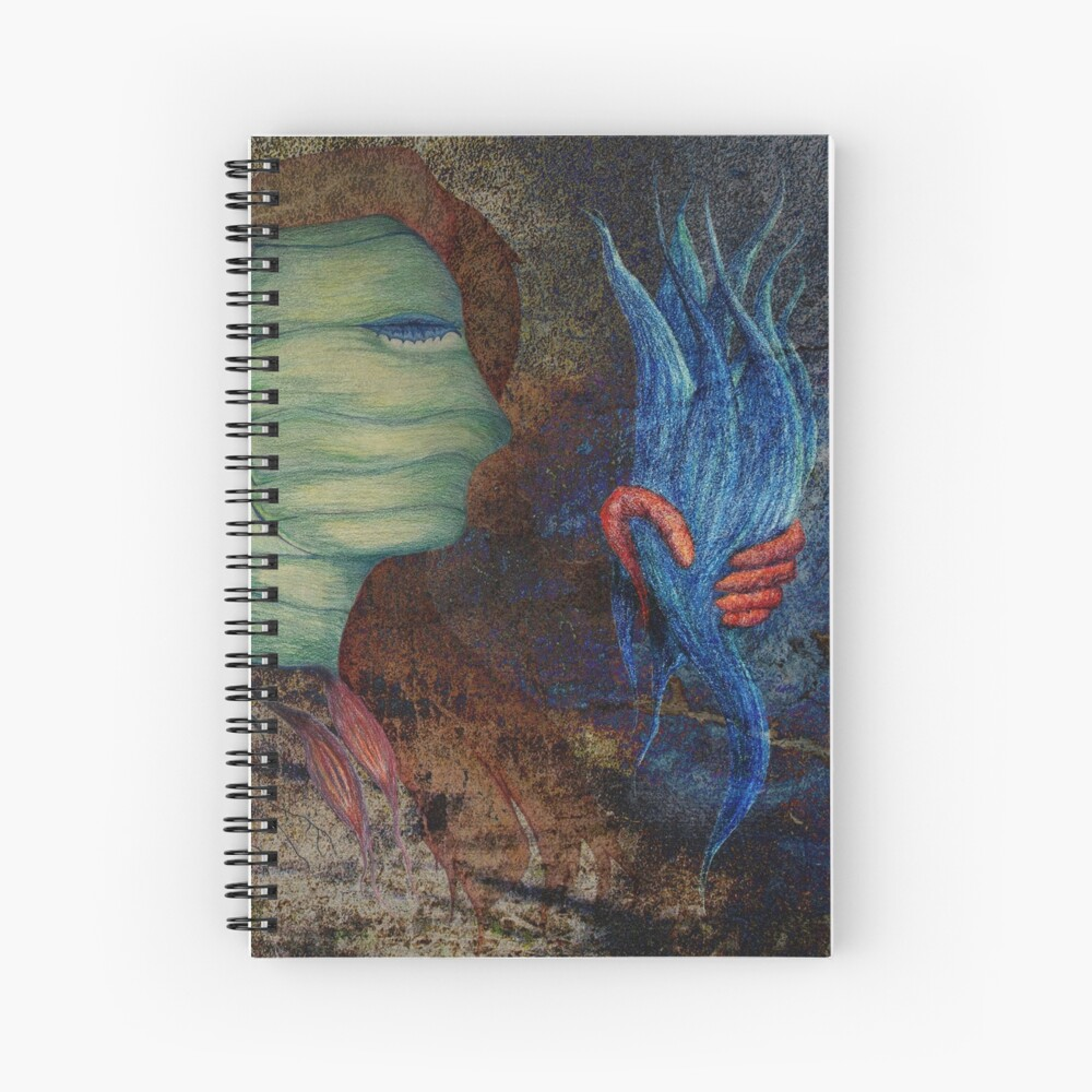 The Silencing of Liberty Spiral Notebook