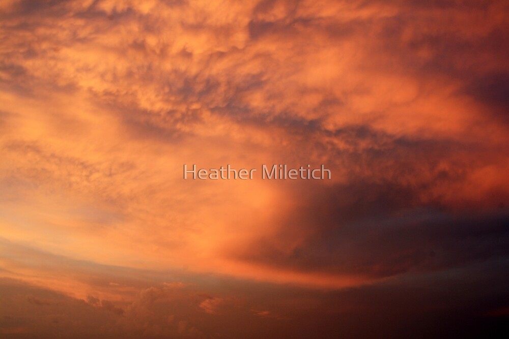 Cotton Candy Clouds by Heather Newkirk