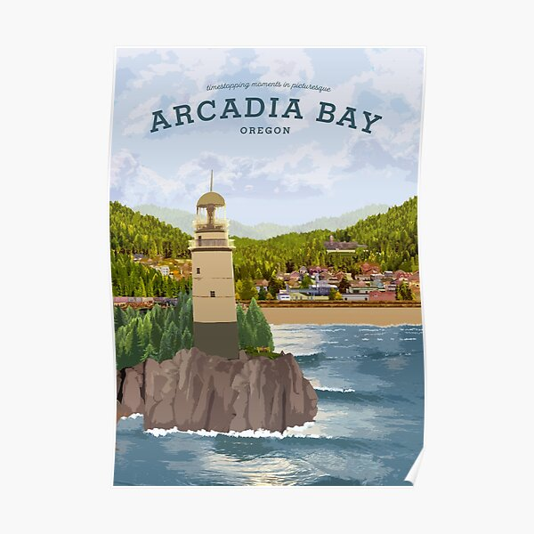 Life is Strange - Arcadia Bay Travel Poster (Day) Poster