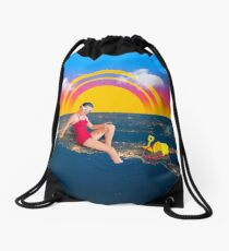 The Countryside Drawstring Bag