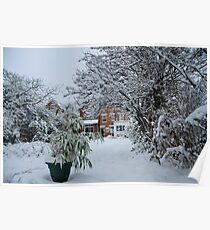 My Snowy Garden 2: West Norwood, London Poster