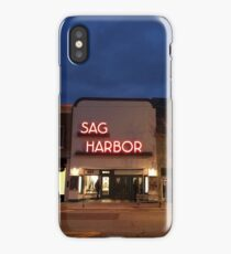 Sag Harbor Cinema iPhone Case