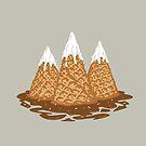 three ice cream by Alexander  Medvedev