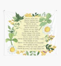St. Patrick's Breastplate Prayer Wall Tapestry