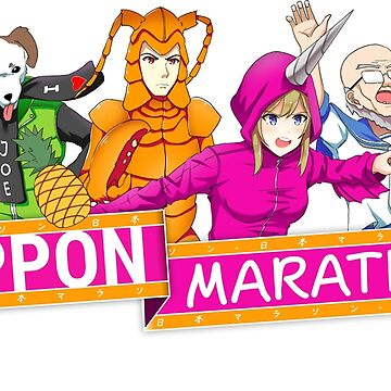 Nippon Marathon: All Four Contestants by NipponMarathon